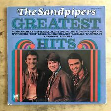 The Sandpipers Greatest Hits 1970 Vinyl LP A&M Records SP 4246
