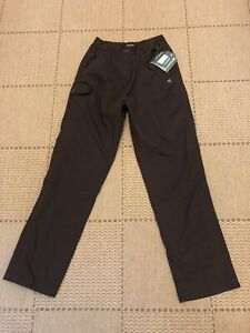 Ladies Craghoppers Trousers Size 12r Brown