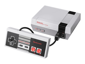 Official Nes Mini Console & Controller - 30 Built In Games - Complete Setup