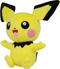 Official Licensed Pokemon Pichu Pikachu Plush Stuffed Figure Doll Toy Gift Kids