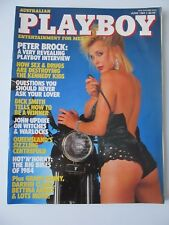 Australian PLAYBOY Magazine, Jun 1984, Peter Brock interview, Big motor bike '84