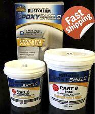 RUST-OLEUM EPOXY SHIELD CONCRETE PATCH AND REPAIR MASONRY CRACK HOLE FLOOR WALLS