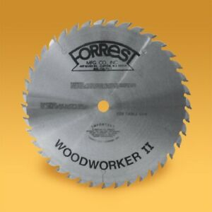 "Forrest WW10406125 10"" Woodworker II - Modified Saw Blade"