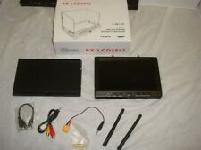"""RX-LCD5812 7"""" HD LCD SCREEN RC FPV DIVERSITY RECEIVER MONITOR HDMI IN (#2)-READ!"""