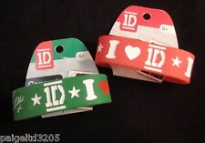 1D One Direction  2 Concert Bands Green & Red