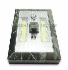 2pk 200 Lumen COB LED Nacht Licht Schalter Kabellos gummierte Beschichtung Camouflage