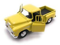 Model Car Chevrolet Stepside Yellow Car Scale 1:3 4-39 (Licensed)