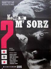 Affiche 120x160cm QUI ETES VOUS MR SORGE 1961 Yves Ciampi - Mario Adorf, Bazil