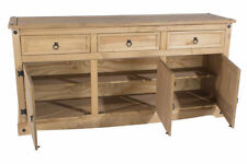 Solid Wood Country Brown Sideboards, Buffets & Trolleys