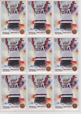 (9) 2014 TOPPS OLYMPIC MONIQUE LAMOUREUX BRONZE CARD #54 LOT ~ ICE HOCKEY