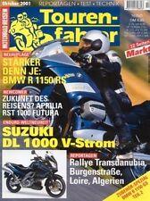 TF0110 + Zubehör BMW R 1150 GS (Teil 2/2) + Tourenfahrer 10/2001