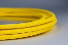 10 meters Shakmods Round 4 mm High Density UV Yellow Braided Expandable Sleeving