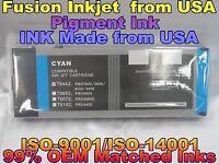 Cartridge fits  Stylus Pro 4000 4400 7600 9600 Cyan Pigment Ink c T5442 hgk