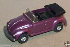 MICRO WIKING HO 1/87 VW VOLKSWAGEN KÄFER COX 1303 BEETLE CABRIOLET VIOLET