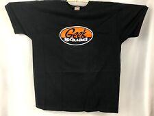 Geek Squad Black Adult T-Shirt Size XL 100% Heavy Cotton