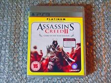 PS3 ASSASSINS CREED II GOTY EDITION UBISOFT 2010 15+ ACTION STEALTH
