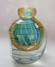 MURANO ART GLASS FACET CUT PERFUMER BURNER VASE PAPERWEIGHT
