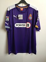 RCD Espanyol Puma Mens Away S/S Football Shirt Jersey - Purple - XL, XXL - BNWT