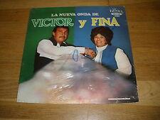 VICTOR y FINA la nueva onda de LP Record - Sealed