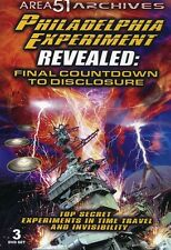 Philadelphia Experiment Revealed: Final Countdown to DVD Region 1