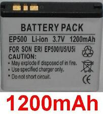 Battery 1200mAh BGS010899 EP500 For Sony Ericsson ST17