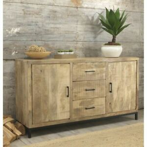 Cove Reclaimed Wood Large Sideboard Dining Living Room Furniture
