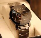 Montre homme,femme L'horloger-Boussole, Bracelet en Acier Inoxydable, Watchmaker