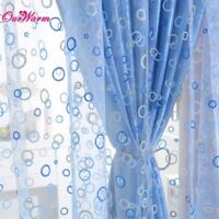 Curtain for Living Room Circle Tulle Sheer Curtain Voile Window Curtains Drapes