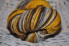 100% Schurwolle Tücherwolle Schafwolle Lace Strickgarn handgefärbt *148* LL 700m
