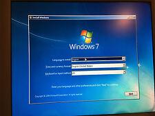 WINDOWS 7  32-bit SP1 Disc + Drivers Restore ReINSTALL Repair, Home Pro Ultimate
