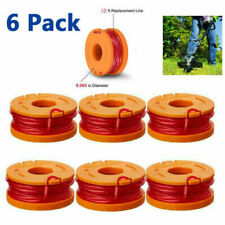 Worx Wa0010 Premium Replacement Spool Line For Grass Trimmer/Edger,10ft *6-Pack*