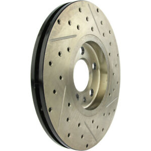 Disc Brake Rotor-High Performance Drilled And Slotted Centric 127.33049R
