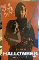 Nick Castle Signed 11x17 Photo Beckett COA. Halloween The Shape Michael Myers D5