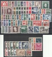 Z4663/ AUSTRIA – 1945 / 1953 MINT MNH SEMI MODERN LOT – CV 265 $