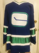 Medium Ccm Vancouver Canucks 2003-06 #1 Luongo Nhl Ice-Hockey Jersey Maillot
