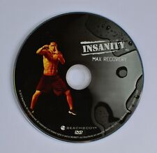 Beachbody Insanity Max Recovery Workout Replacement DVD Disc