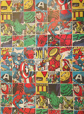 Comic Book Heroes Birthday, Child Wrapping Paper