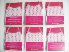 AMERICAN GIRL LOT OF SIX TANK TOP/ BRIEFS NEW IN PACKAGES - GREAT PARTY FAVORS
