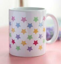 Taza desayuno de cerámica estrellas