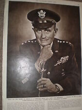 Photo article Allied supreme commander Europe Alfred maximilian Gruenther 1954
