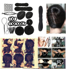 26PCS/Set Hair Magic Braider Tool Twist Styling Clip Stick Bun Maker Braid Kit