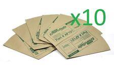 10x Genuine Pacvac Superpro Paper Dust Bags suit Superpro Backpacks AF101