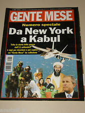 GENTE MESE=2001/11=TWIN TOWERS WORLD TRADE CENTER=OSAMA BIN LADEN=GEORGE BUSH=