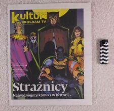 """THE WATCHMEN"" mag.COVER 2013 Poland  Placebo,William Fichtner,E.Torrini,S.Lem"