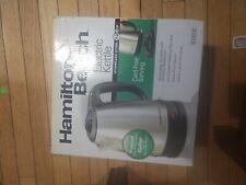 Electric Kettle 1.7 Liter/7.2 Cup Cord-Free Hamilton Beach 40993E 1500W