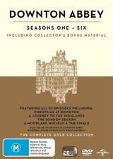DOWNTON ABBEY SEASON SERIES 1+2+3+4+5+6+all Christmas Special DVD Box Set R4