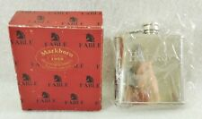 NEW Vintage 1998 Markboro Fable HENNESSEY Liquor Flask Traveler Collection Box