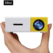 Pico Projector, 500Lm LED Mini Projector Connect PC Laptop IPhone 1080p for TV