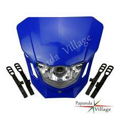 Streetfighter Front Headlight Head Light Lamp Fairing For Yamaha YZ250 WR Blue