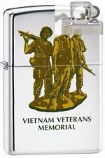 Zippo 250 vietnam vets memorial Lighter with PIPE INSERT PL